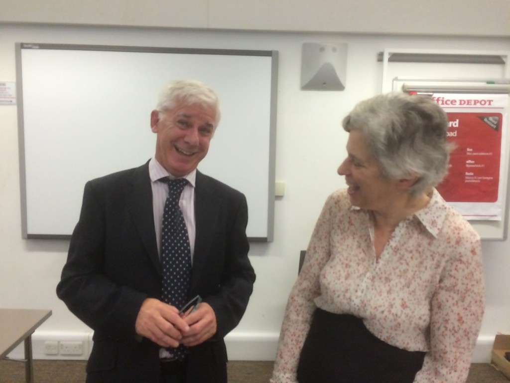Thomas Docherty, Professor of English and Comparative Literature at the University of Warwick, and Anne Sheppard, Professor of Ancient Philosophy, Royal Holloway, University of London.