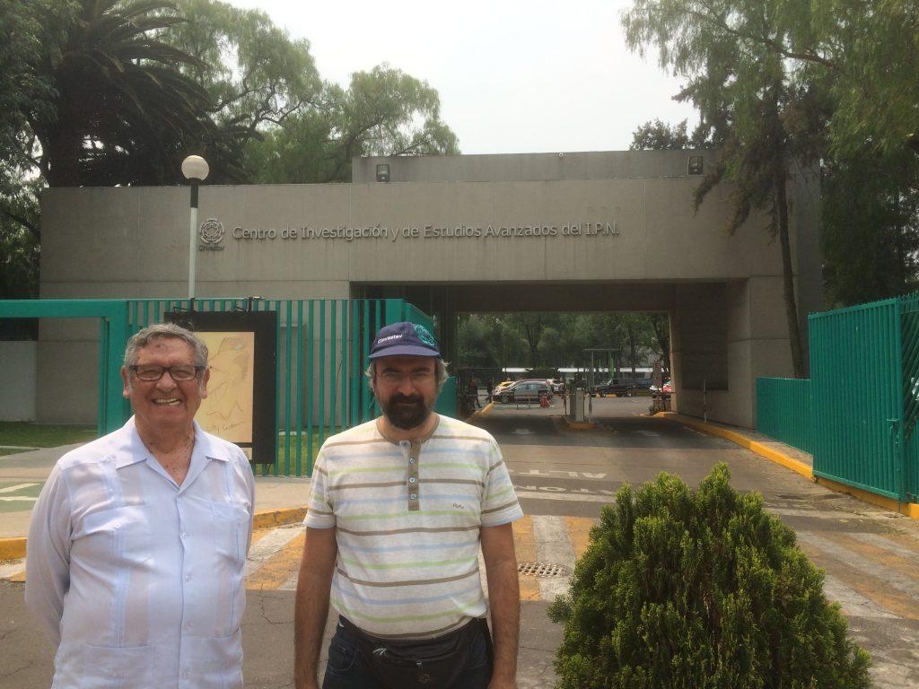 Carlos Gómez and Fanis Missirlis